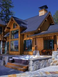 Hot Tub Patio Ideas | ... Ideas, Backyard Deck Design ...