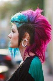 mod sims - deathhawk hair