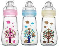NEW! MAM Glass Baby Bottle, 260ml. CHOOSE COLOUR. | eBay ...