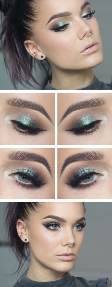 Cooler colors are winter makeup looks that you can rock all year!