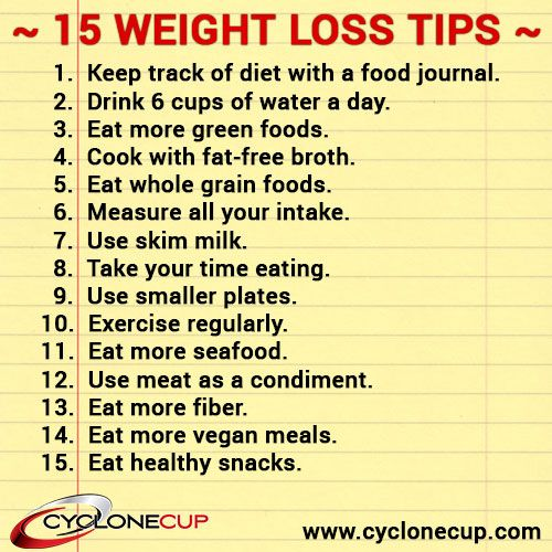 15 simple weight loss tips fitness pinterest