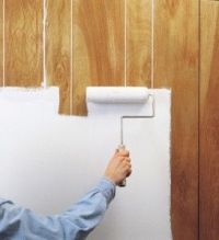 Painting-paneling-before-and-after | Wallpaper designs ...