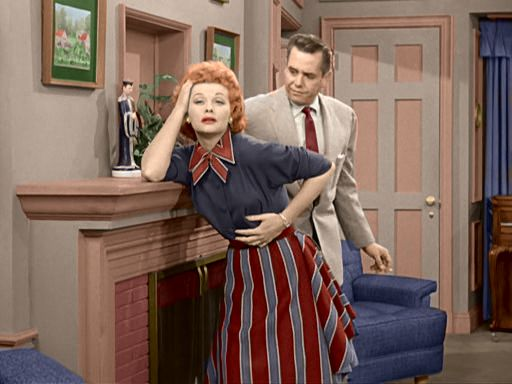 I Love Lucy in color: