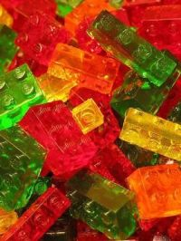 Lego Brick Shaped Gummy Candies   Lego brick, Facebook and ...