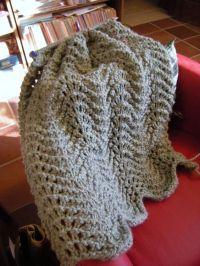 Simple Knitted Prayer Shawl Pattern | Knit Shawl Patterns ...