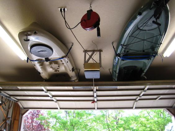 Kayak Garage Storage How