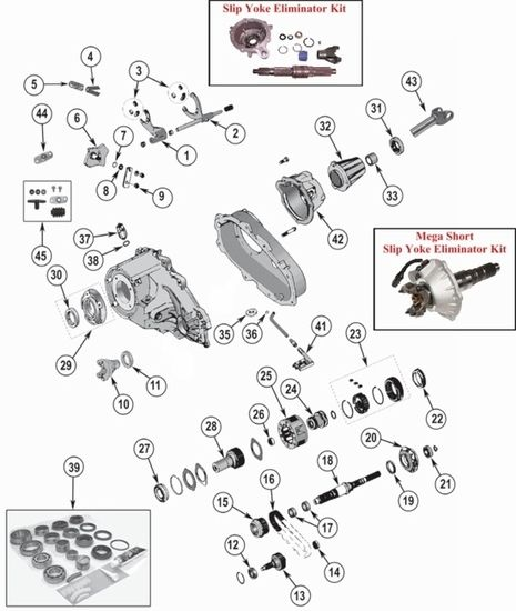 Transfer case, Cherokee and Forks on Pinterest