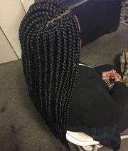 jumbo box braids withside part #braidstomesmerize