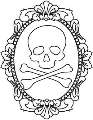 Skulls, Embroidery and Urban threads on Pinterest