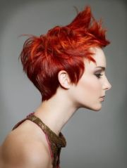wow fiery red pixie simple