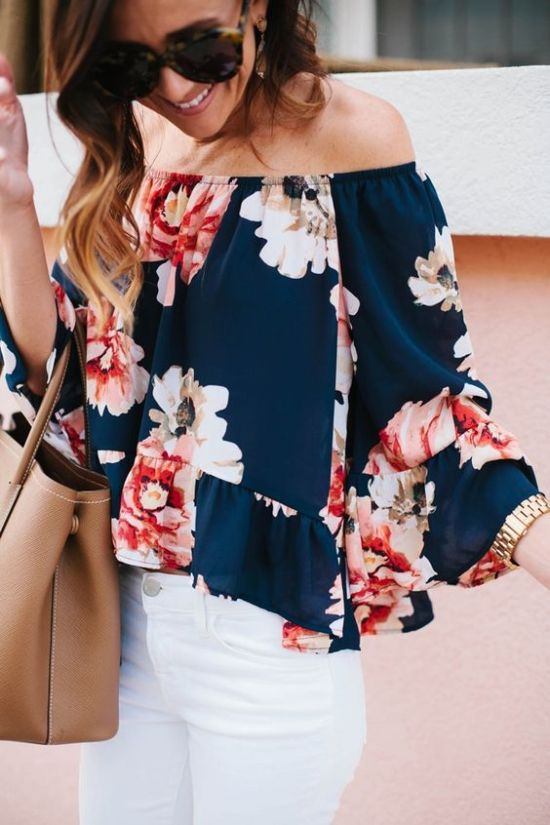Pinterest Floral Top