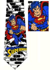 Superman ties are really cool. When wearing one of these