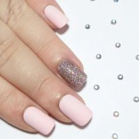 Matte Fake Nails Short Nails Press On by ...