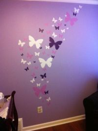 Pink & Purple Butterfly Bedding Sets for Girls | Flower ...