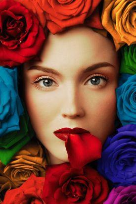 Resultat d'imatges de labios rosa flores