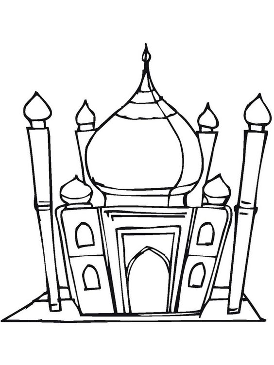 Crafts, Coloring pages for kids and Ramadan lantern on