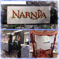 Christmas Office Decoration Theme