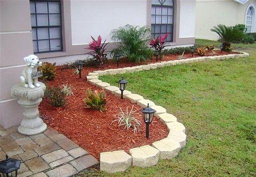 prefect barrier red mulch jardin