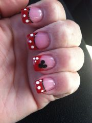 disney nails french and world