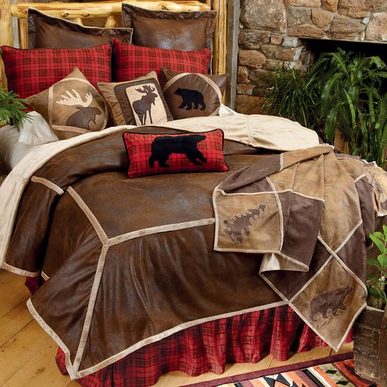 Northwoods Wilderness Bedding Collection Cabin Amp Lodge