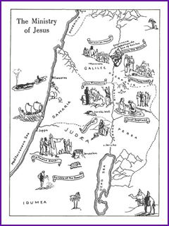 Print/Download The Ministry of Jesus Map updated link