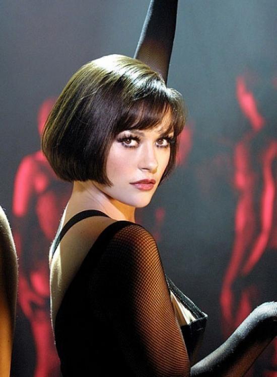 Short Bob Hairstyle Catherine Zeta Jones in Chicago Musical  Actors  Actresses  Pinterest