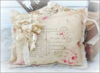 Shabby chic crafts, Lavender sachets and Sachets on Pinterest