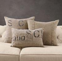 French Mill Linen Pillows