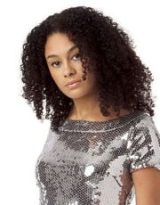 small curls black hairstyles