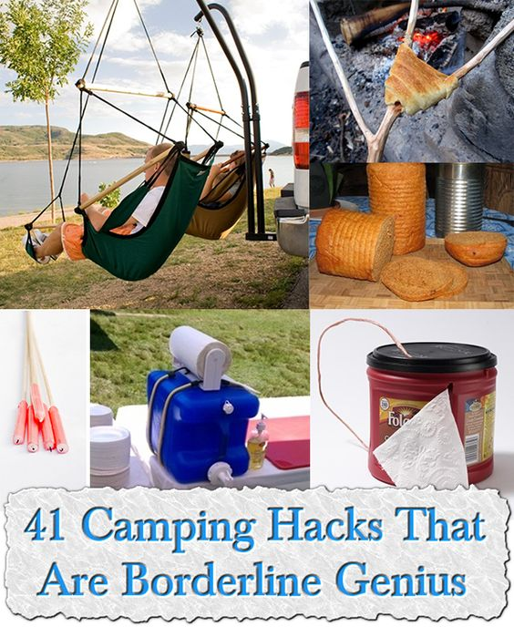 41 Camping Hacks That Are Borderline Genius Gonna Try