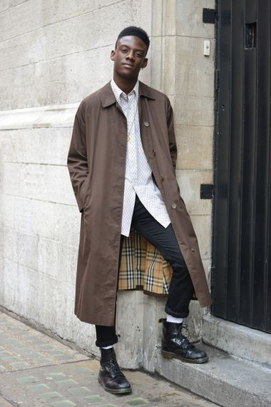 "anunrealbritishgentleman: ""Street Style London   By The Nyanzi Report "":"