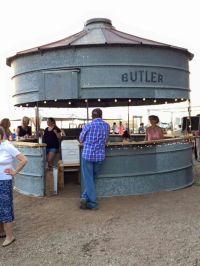 Rustic grain silo bar | Cabin | Pinterest | Backyards, Bar ...