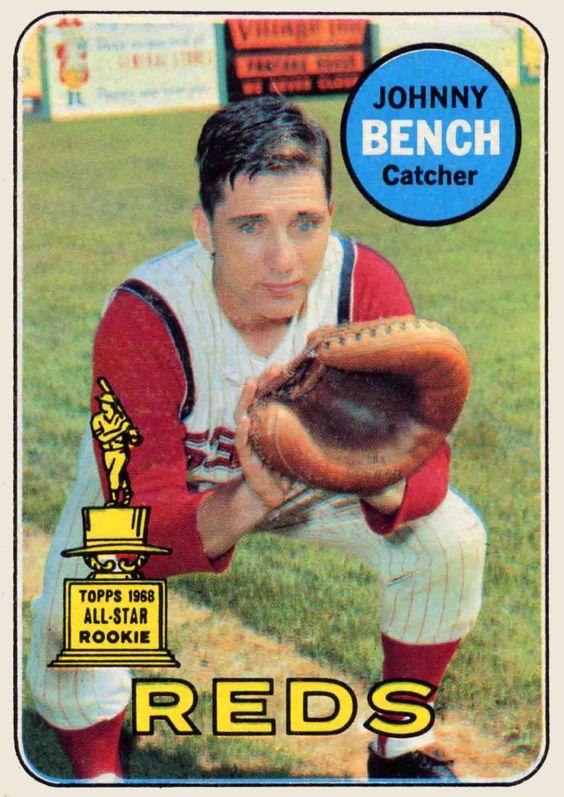 Johnny Bench I Luv Jb 60 S Pinterest Benches