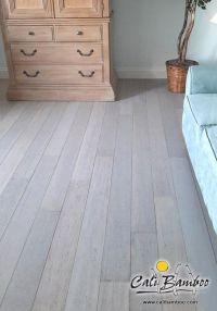 Rustic Beachwood bamboo flooring for the beach house ...