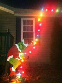 1000+ ideas about Outdoor Lighted Christmas Decorations on ...