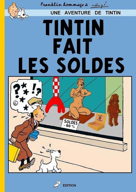 tintin PARTAGE DE JEAN MARC PAOUS.............: