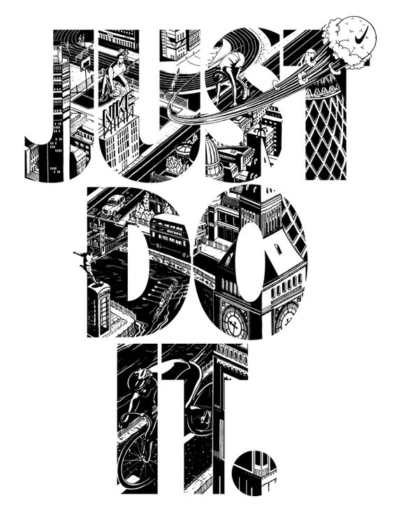 Just do it, Nike and Typography on Pinterest