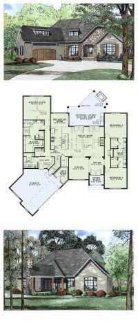 Craftsman European House Plan 82166 | European House Plans ...
