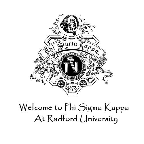 Welcome To The Phi Sigma Kappa Chapter at Radford
