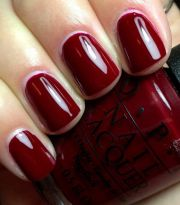 "opi "" blues red"" #fall"