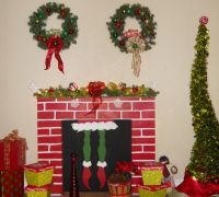 DIY Grinch fireplace | Grinchmas Home | Pinterest | The o ...