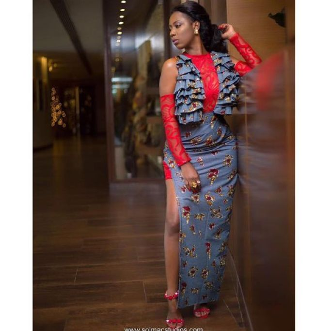 Image result for selly galley in asoebi