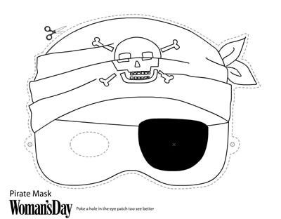 Print a Free Halloween Mask and Make an Instant Costume