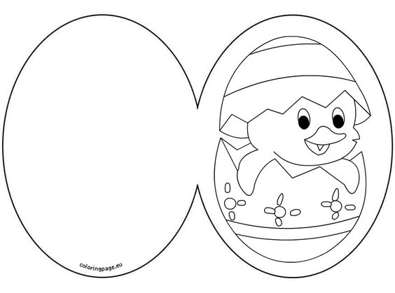 Coloring pages, Easter card and Coloring on Pinterest