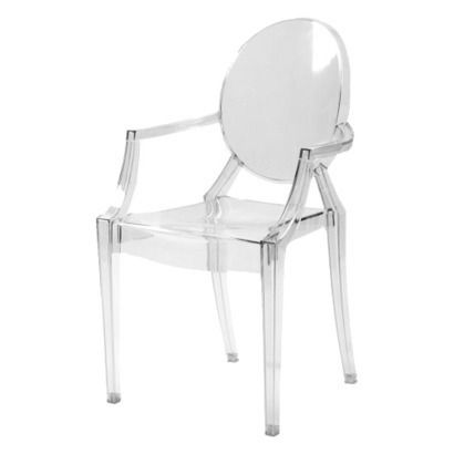An affordable ghost chair via Target  For the Office