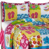 Surf Girl Bedding | Girls' Room | Pinterest | Surf, Girl ...