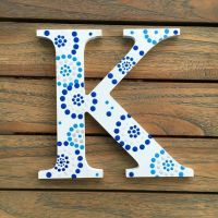 Kappa Greek Letter, Sorority Wall Art, Greek Wall Decor