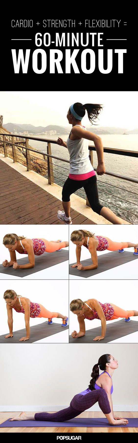 60 minute workout that has it all cardio strength and flexibility