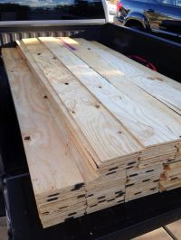 Plywood, Sheet of plywood and Planked walls on Pinterest