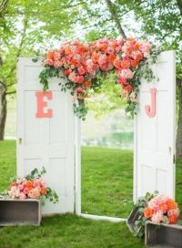 1000+ ideas about Rustic Wedding Arbors on Pinterest